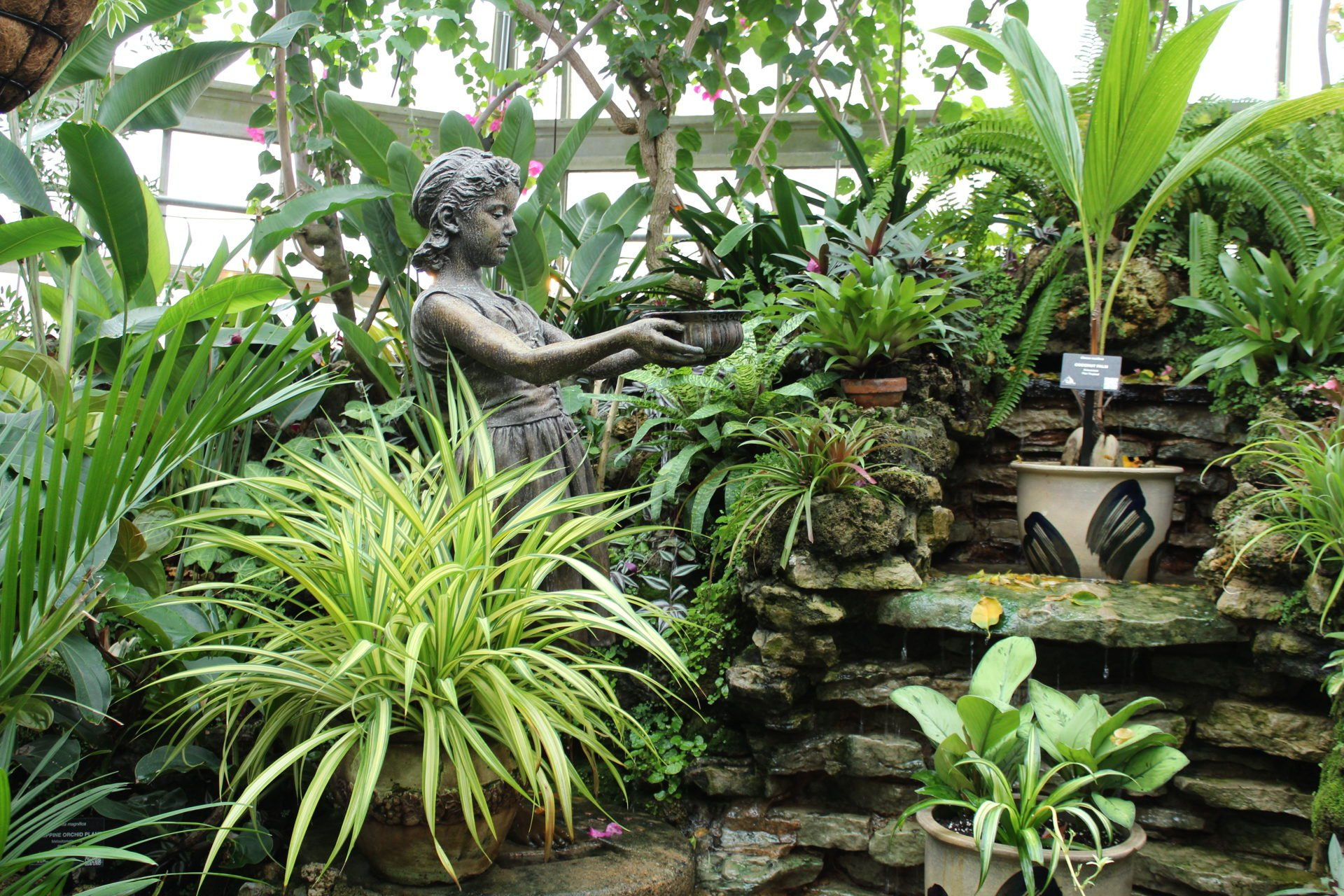 Belle Isle conservatory fountain